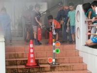 模擬消火訓練
